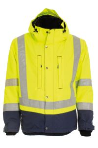 Winter jacket, Color: 94 yellow/navy