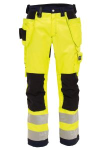Craftsman trousers, Color: 94 yellow/navy