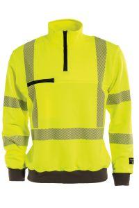 Sweatshirt, Color: 55 yellow